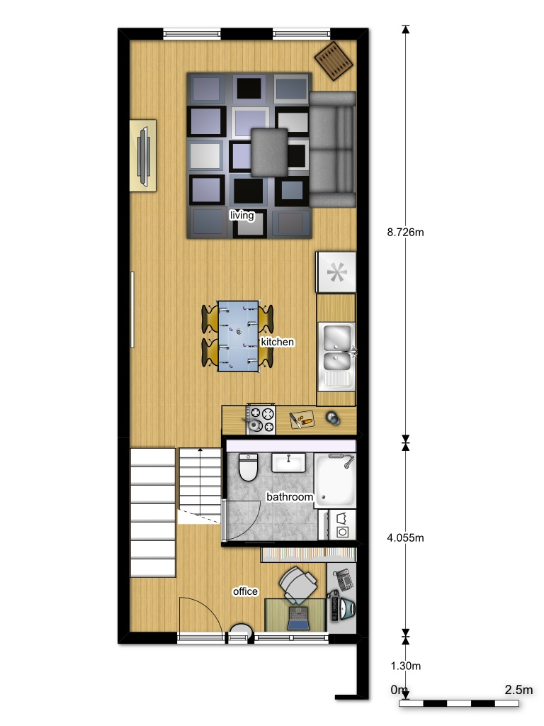 studio-2d-plan-with-dimensions